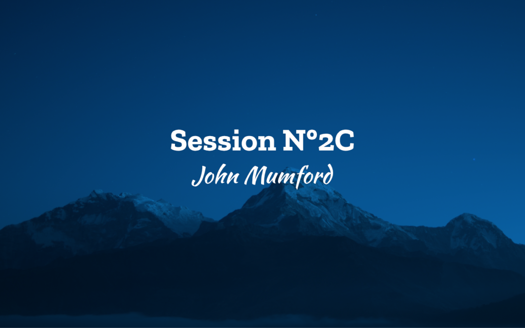 Session N°2C – La foi dans le business – Jon Mumford