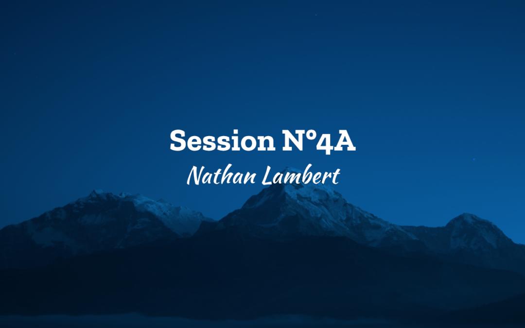 Session N°4A – Nathan Lambert